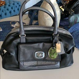 NWOT coach genuine leather bag